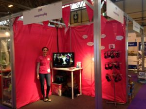 Our stand at the Education Show