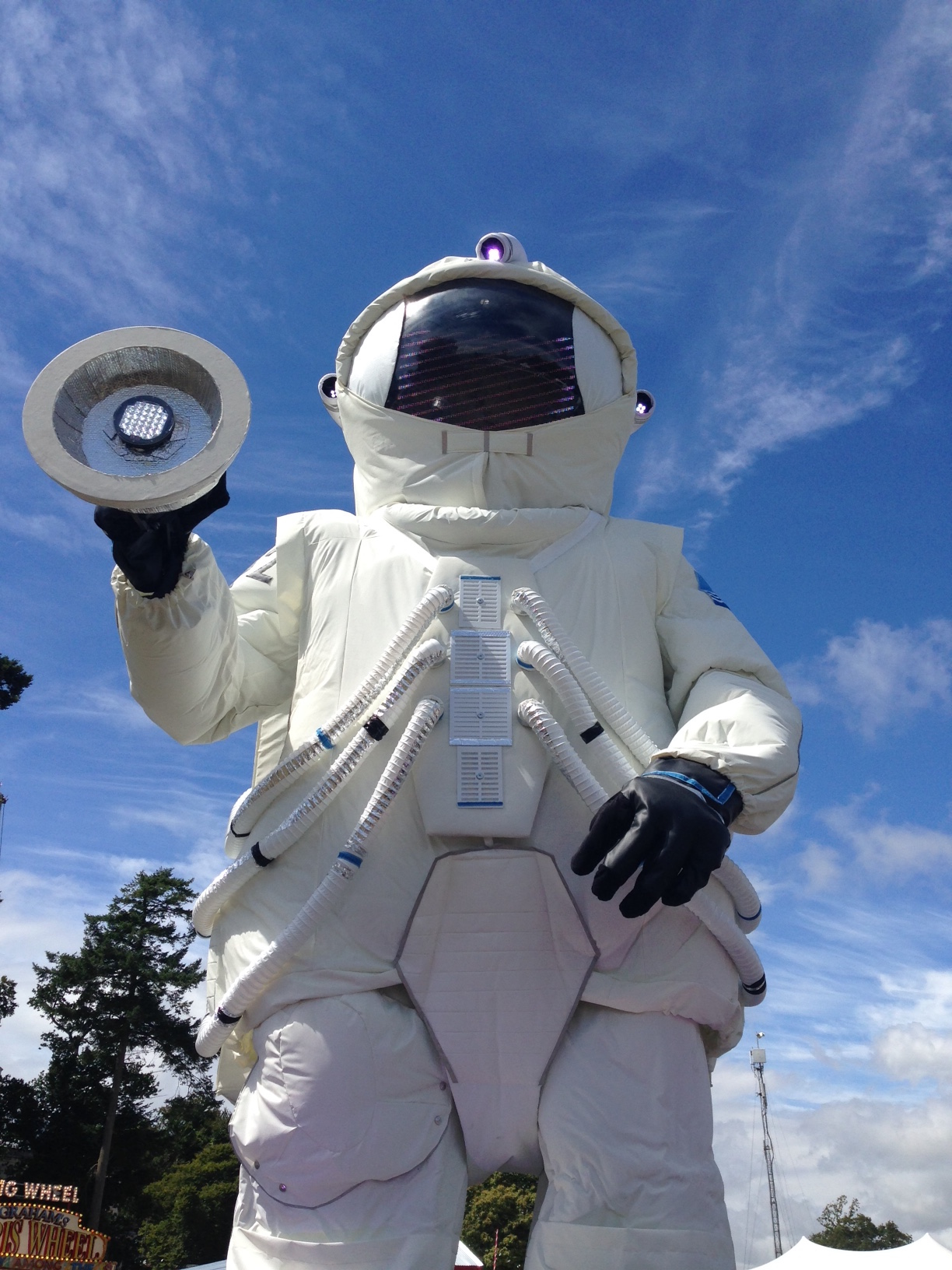 Time Travelling in Outer Space! now>press>play at Camp Bestival!