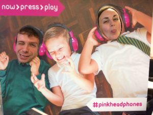 now>press>play #pinkheadphones