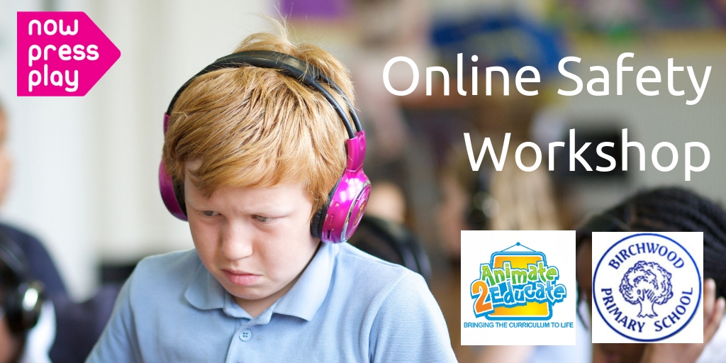 A Free Online Safety Event for Tamworth & Birmingham  Primary Schools