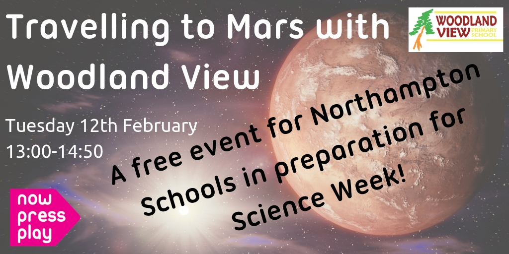 """""""Travelling to Mars"""" – with Woodland View Primary!"""