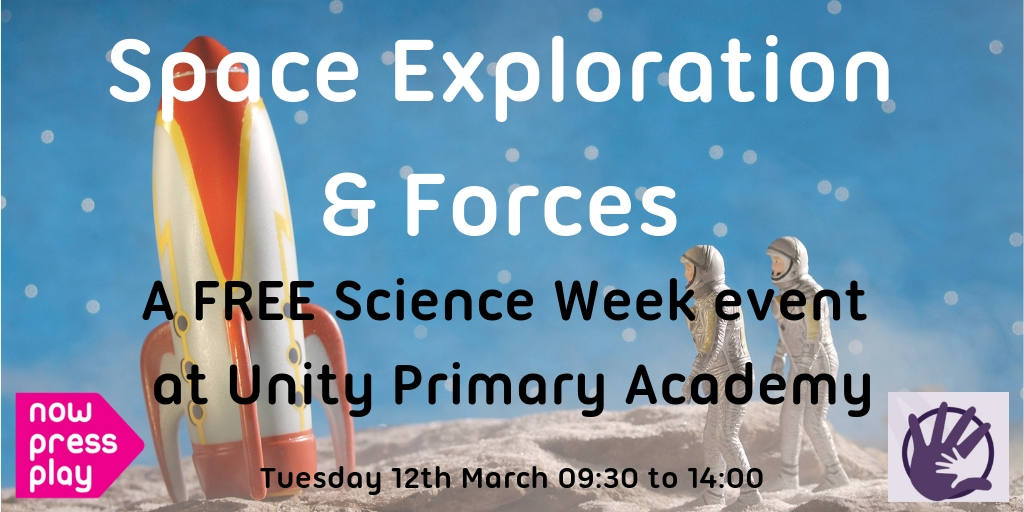 A FREE Science Week Event at Unity Primary